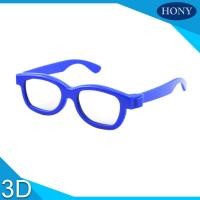 Wholesale Cinema Reald 3D Polarized Glasses For Kids , ABS Frame 0.19-0.38mm lens from china suppliers