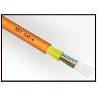 Wholesale 24 Core Loose Tube Dielectric Fiber Optic Cable , Fiber Optic Internet Cable from china suppliers