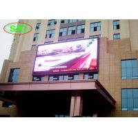 Wholesale Wall mounted outdoor full color p6 lightweight smd applied to any business building from china suppliers