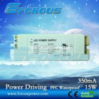 Wholesale PFC 350mA15W LED Triac Dimmer Driver Constant Current Led Power Supply Ce Ul ,UL,PSE, powe from china suppliers
