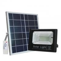 China Outdoor 25W 40W 60W LED Solar Flood Light With Timer Security / IP65 Solar Flood Light on sale