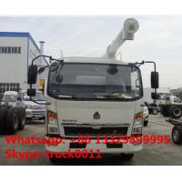 Wholesale SINO TRUK HOWO 4*2 LHD/RHD 8m3 animal feed truck for sale,2018s good price  HOWO bulk feed delivery  truck for sale from china suppliers
