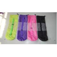 Wholesale coloured yoga mat bag/mesh bag for yoga/yoga bags from china suppliers