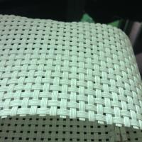 Wholesale White color sling chair woven mesh PVC fabrics from china suppliers