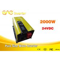 Wholesale Single Phase UPS Solar Inverter pure sine wave dc ac 24vdc to 240v inverter generator 2000w from china suppliers