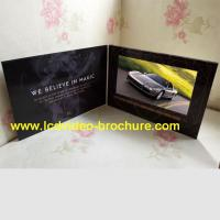 Wholesale Handmade Bespoke lcd video brochure card 2G / 4G / 8G lcd CMYK Printing from china suppliers