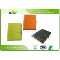 Wholesale Colors Soft Leather Card Pocket Recycled Paper Notebooks for Company Office Supplies from china suppliers