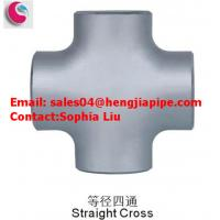 Wholesale butt welded pipe fitting cross from china suppliers