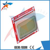 Wholesale module for Arduino , Nokia 5110 LCD Module With White Backlight RED PCB for Arduino from china suppliers