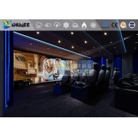 Wholesale 18 Persons 5D Movie Theater With Special Effect System 3DOF Pneumatic Motion Chairs from china suppliers