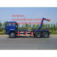 Quality Sinotruk 266hp Modern Back Loader Garbage Compactor Truck Euro II 10tires with Hydraulic Arm Hook Lift for sale