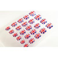 Wholesale Union Jack Fake Toe Nails Holiday , Foot Nails Art With Nail Glue from china suppliers