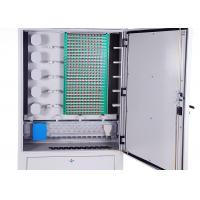 Wholesale IP65 Cold Rolled Steel Fiber Optic Distribution Cabinet 288 Cores Distribution Connection from china suppliers