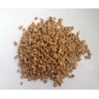 Wholesale 4~6mm Diameter, 70~80g/L Density,Nature Eco - Friendly corks granules, Good flooring material from china suppliers