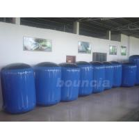 Wholesale Blue Inflatable Tree Log Tactical Bunker Bunker with Durable Valves from china suppliers