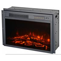 Wholesale insert electric fireplace heater EF-30AKF 23inches with trim LED flame firebox for living room from china suppliers