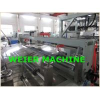 Wholesale PET Plastic Sheet Extrusion Line , Parallel Twin Screw Extruder Machine from china suppliers
