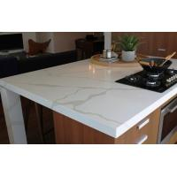 Wholesale Calacatta Gold Solid Surface and Countertop Non-porous Standard Sizes 108*26inch from china suppliers