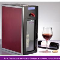 China Innovative Wine Dispenser Fridge Combine Chill Dispense Preserve and Display All-in-one Keep Open Wine 10 Days on sale