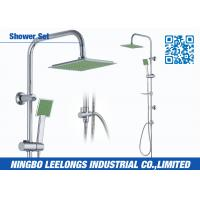 Wholesale Chromed S.S Corner Shower Columns With Single Function Square Shower from china suppliers