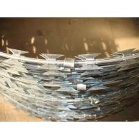 Wholesale Security Concertina Razor Barbed Wire Fencing 900mm For Military from china suppliers