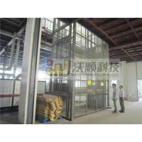 Wholesale Electric guide rail hydraulic warehouse cargo lift / Outdoor lift elevators from china suppliers