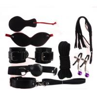Wholesale 8 PCS Handcuffs Mouth Stuffed Patch Rope Sex Bondage Restraints Toys Set For Adult from china suppliers