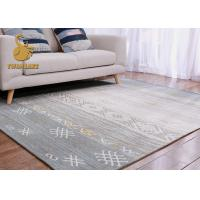 Wholesale Various Style Modern Living Room Rugs , Dining Room Area Rugs Absorb Water from china suppliers