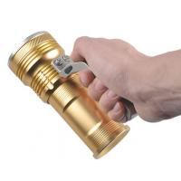3W / 10W Rechargeable LED Flashlight with Four Lighting Modes