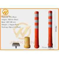 Wholesale Sunproof Heat Resistant 76cm Traffic Delineator Post Reflective Guide Post from china suppliers