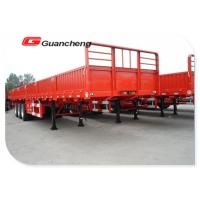 Wholesale Cargo Transport Side Wall Heavy Duty Semi Trailer 3 Axle 60 Ton Capacity from china suppliers