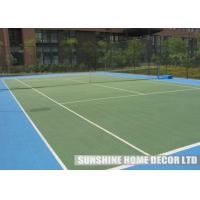 Wholesale Red Plastic Waterproof Tennis Court Flooring , Environmentally Friendly Flooring for Sport Court from china suppliers