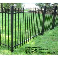 Wholesale High security spear top steel fencing factory supply from china suppliers