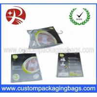 Wholesale Custom Printed Plastic Hanger Bags , Women Underwear With Slider from china suppliers