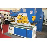 Wholesale Customized iron worker machine angel steel rod cutting & punching lathe from china suppliers