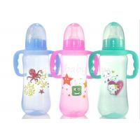 Wholesale Colored baby feeding bottles with Handles , milk bottle for baby Normal Neck from china suppliers