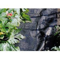 Wholesale Black Garden Plant Accessories - Tear Proof Weed Block Fabric / Weed Control Fabric from china suppliers