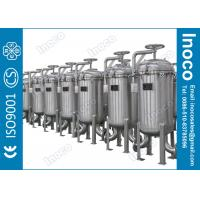 Wholesale BOCIN 25 Micron Stainless Steel Multi-bag Filter Liquid Filter ASME from china suppliers