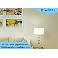 Wholesale Modern Contemporary Wall Coverings / Breathable Striped Wallpaper for Living Room from china suppliers