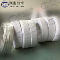 Wholesale Extruded magnesium ribbon anode for protect high resistivity electrolyte tanks from china suppliers