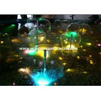 Wholesale Hemisphere Indoor Water Fountain Mushroom Fountain Nozzle from china suppliers