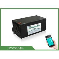 Wholesale Home Energy Storage Battery 12V300Ah  , 150 ~ 200A Discharge , 4pcs In series For 48V from china suppliers