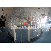 Wholesale PVC Material Layer Clear Inflatable Airtight Tent Transparent Bubble Tent With Door from china suppliers