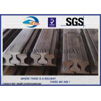 Wholesale Customized Railroad Steel Crane Rail , American / BS / UIC860 / UIC50 Standard from china suppliers