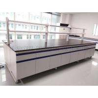 Wholesale Steel Wood Structure Lab Island Bench / Lab Test Furniture / Biology Lab Furniture from china suppliers