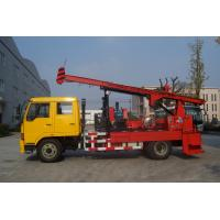 Wholesale Natural Gas Truck Mounted Drilling Rig , Trailer Mounted Drilling Rigs from china suppliers