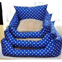 Wholesale dots pet bed ,dots pet cushion MH-2034 from china suppliers