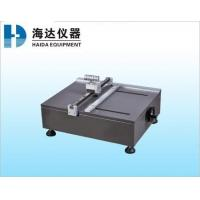 Wholesale Stable Paper Testing Equipments , Accurate Sample Cutter For Edge Compression Testing Machine from china suppliers