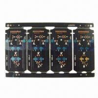 Buy cheap 4-layer PCB with 2.00mm Board Thickness and Immersion Silver Surface Finish from wholesalers