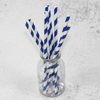 Buy cheap Eco-friendly 6mm/8mm/10mm Custom white/black pink Biodegradable PLA long 197mm paper drinking fancy for straws material from wholesalers
